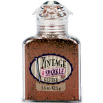 Advantus - Sulyn Industries - Vintage and Sparkle Glitter - Mahogany