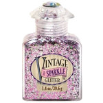 Advantus - Sulyn Industries - Vintage and Sparkle Tinsel Glitter - Vintage Couture