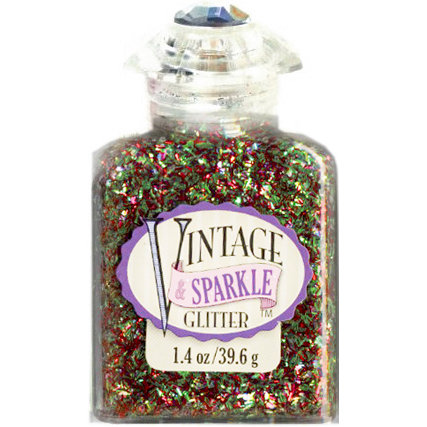 Advantus - Sulyn Industries - Vintage and Sparkle Tinsel Glitter - Costume Party