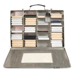 Advantus - Cropper Hopper - Tim Holtz - Stamp Pad Case - Tin