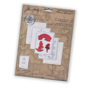 Advantus - Cropper Hopper - Tim Holtz - Unmounted Stamp Refill Pockets