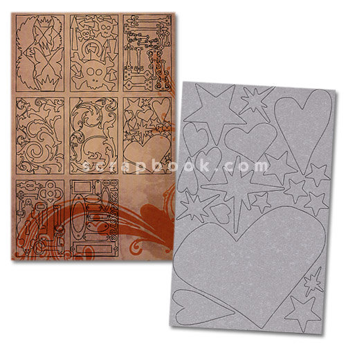 Advantus - Cropper Hopper - Tim Holtz - Grunge Board - Grungeboard Elements - Plain