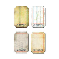 Advantus - Cropper Hopper - Tim Holtz - Idea-ology - Journaling Tickets