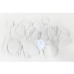 Advantus - Cropper Hopper - Tim Holtz - Idea-ology - Fragments - Clear Charms