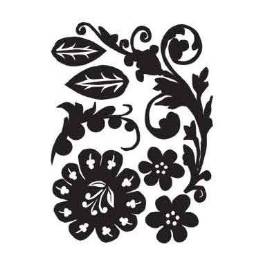Advantus - Tim Holtz - Idea-ology - Mini Mask - Florets
