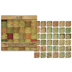 Advantus - Tim Holtz - Idea-ology Collection - 12 x 12 Paper Stack - Retro Grunge