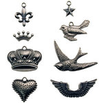Advantus - Tim Holtz - Idea-ology Collection - Adornments - Metal Charms