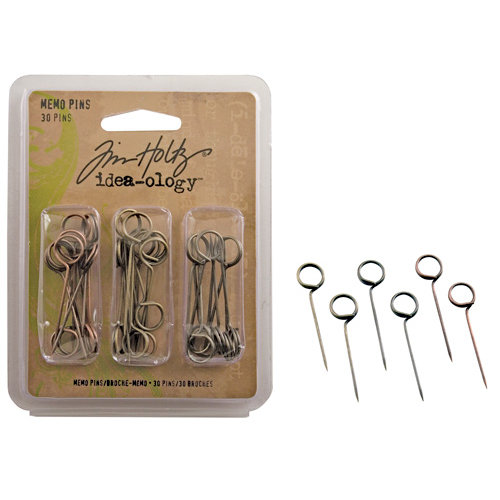 Advantus - Tim Holtz - Idea-ology Collection - Memo Pins