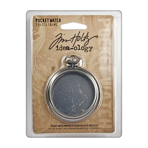 Advantus - Tim Holtz - Idea-ology Collection - Pocket Watch