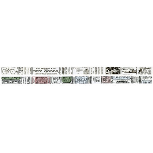 Advantus - Tim Holtz - Idea-ology Collection - Tissue Tape - Journeyman