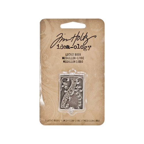 Tim Holtz - Idea-ology Collection - Locket Book