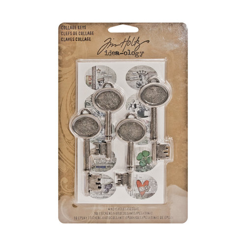 Tim Holtz - Idea-ology Collection - Collage Keys