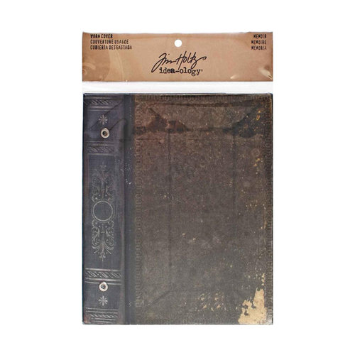 Tim Holtz - Idea-ology Collection - Worn Cover - Memoir