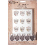 Advantus - Tim Holtz - Idea-ology Collection - Shield Charms