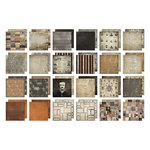 Advantus - Tim Holtz - Idea-ology Collection - 8 x 8 Mini Paper Stash - Regions Beyond