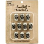 Advantus - Tim Holtz - Idea-ology Collection - Boneyard - Resin Skulls