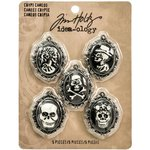 Advantus - Tim Holtz - Idea-ology Collection - Halloween - Crypt Cameos