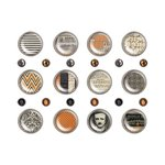Advantus - Tim Holtz - Idea-ology Collection - Halloween - Fasteners - Regions Beyond