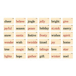 Advantus - Tim Holtz - Idea-ology Collection - Christmas - Flashcards - Christmastime