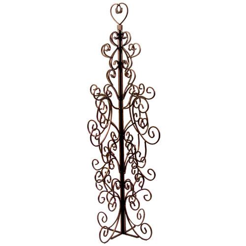 Advantus - Tree Of Life - Metal Tree Display - Bronze Finish with Open Heart, BRAND NEW