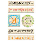 Creative Imaginations Chipboard - Narratives by Karen Russell - Antique Memories, CLEARANCE