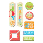 Creative Imaginations - Narratives by Karen Russell - Chipboard Embellishments - Antique Medley, CLEARANCE