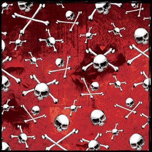 Creative Imaginations - Skull and Crossbones Collection - Paper - Skull and Crossbone
