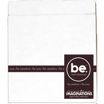 Creative Imaginations - Bare Elements - Album - Brook - Peek-a-Book - Peek-oh-Book