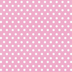 Creative Imaginations - Creative Cafe Collection - 12 x 12 Printed Felt - Pink Polka Dot
