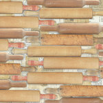 Creative Imaginations - Sweet Tooth Collection by Samantha Walker - 12x12 Paper - Rolling Pins