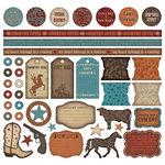 Creative Imaginations - Signature Western Spirit Collection - 12x12 Sticker Sheets - Western Spirit