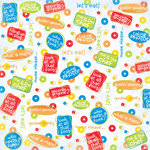 Creative Imaginations - Signature Magic Meals Collection - 12x12 Paper - Silly Phrase, CLEARANCE