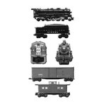 Creative Imaginations - Lionel Trains Collection - Large Metal Cast Brads - Trains