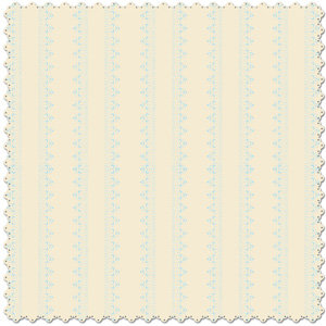 Creative Imaginations - Narratives - Bloom Collection - 12x12 Diecut Paper - Stripes Sky, CLEARANCE