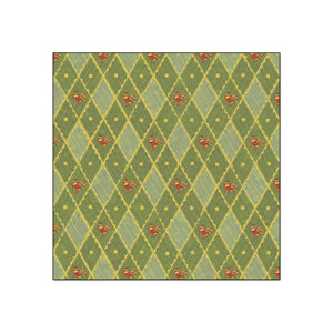 Creative Imaginations - Sams Kitchen Collection - 12x12 Paper - Rooster Diamond, CLEARANCE