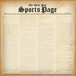 Creative Imaginations - Special Edition Collection - 12x12 Paper - Sports Page