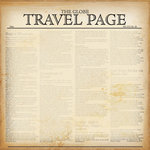 Creative Imaginations - Special Edition Collection - 12x12 Paper - Travel Page