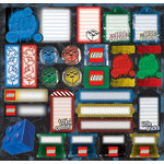 Creative Imaginations - Lego Classic Collection - 12 x 12 Cardstock Stickers - Lego Classic Classic