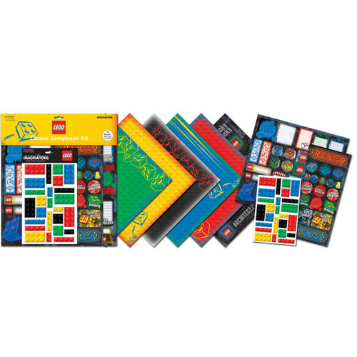 Creative Imaginations - Classic Lego Collection - Classic Scrapbook Kit