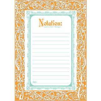 Creative Imaginations - Narratives by Karen Russell - Lilly Lane Collection - Embossed Cardstock Punchout Frame - Tangerine