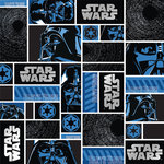 Creative Imaginations - Star Wars Collection - 12 x 12 Silver Foil Paper - Darth Vader