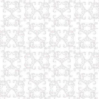 Creative Imaginations - Lovebird Collection - 12 x 12 Embossed Foil Paper - Lovebird Filigree, CLEARANCE