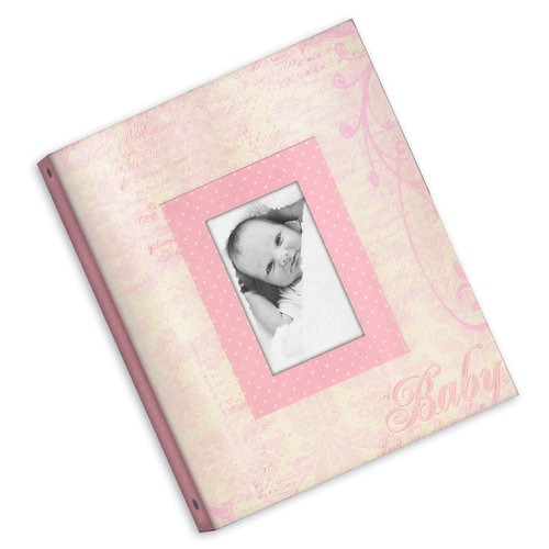 Creative Imaginations - Narratives by Karen Russell - 3 Ring Binder - Memory Book - Baby Girl