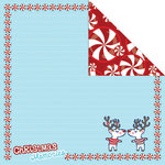 Creative Imaginations - Dear Santa Collection by Helen Dardik - Christmas - 12 x 12 Double Sided Paper - Christmas Memories