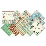 Creative Imaginations - Tinsel Town Collection - Christmas - 12 x 12 Paper Pad, CLEARANCE