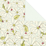 Creative Imaginations - Loolah Collection - 12 x 12 Double Sided Paper - Blooming