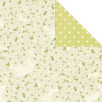 Creative Imaginations - Loolah Collection - 12 x 12 Double Sided Paper - Little Daisy