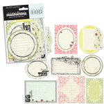 Creative Imaginations - Loolah Collection - Die Cut Pieces - Loolah Shapes, CLEARANCE
