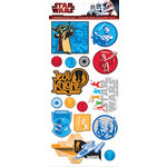 Creative Imaginations - Star Wars Clone Wars Collection - Chipboard Stickers