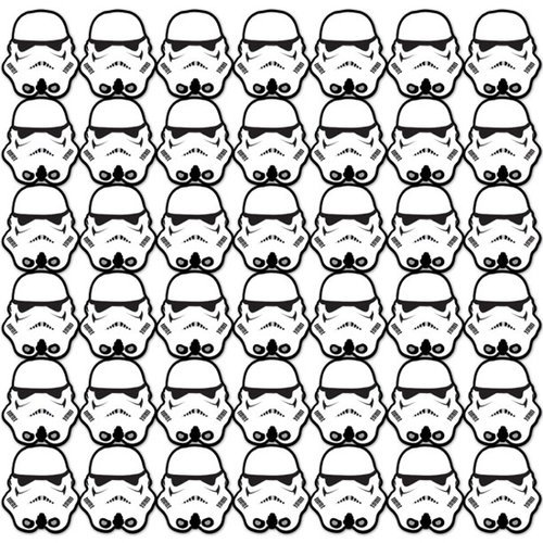 Creative Imaginations - Star Wars Empire Strikes Back Collection - 12 x 12 Die Cut Paper - Storm Trooper